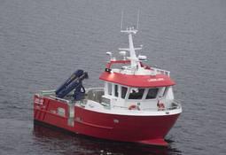Moen Marin leverte arbeidsbåten Lisskjær til Vega Sjøfarm