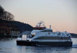 - Enormt potensial for økt persontrafikk til sjøs