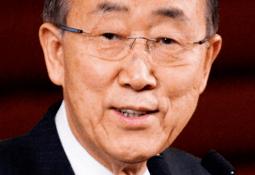 Ban Ki-moon será el expositor principal en AquaVision 2018