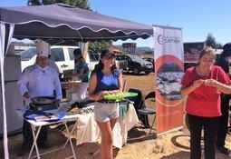 Curacautín: salmonicultoras participaron en Fiesta del Asado Criollo y Tradiciones