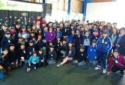 Ventisqueros apoya a escuelas en obtención de Certificación Ambiental (SNCAE)