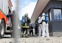 Puerto Montt: realizan investigación por emergencia química en planta de procesos