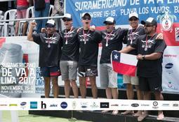 Ejecutivos del área salmonicultora triunfan en Campeonato Sudamericano Va'a