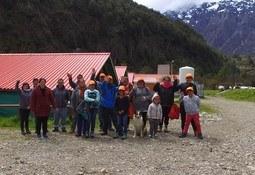 Escuela de Huelpún pasó su gira de estudios en Puerto Cisnes
