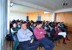 Estudiantes secundarios participaron del 14° Seminario sobre Temas Acuícolas