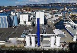 BioMar establece un récord de producción en su planta de alimentos de Karmøy