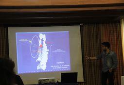 Alta dinámica de Alexandrium catenella en el océano expuesto