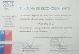 Friosur recibió reconocimiento por inserción laboral de mujeres