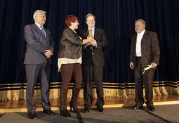 Blumar recibió premio Empresa Destacada 2015 de la Municipalidad de Talcahuano