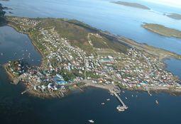 Pesca artesanal mantiene bloqueo del aeródromo en la isla Melinka