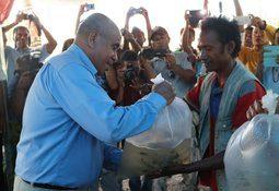 Timorese tilapia boost