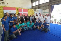 'Massive sales' for feed producer in Egypt