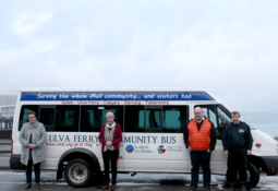 Salmon producer keeps island bus on the road