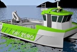 Verdens første røkterbåt med 100 % batterielektrisk drift