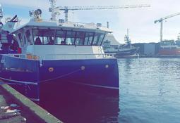 Frå Polen til Bolaks med ny røkterbåt