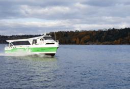 Tester utslippsfri hurtigbåt i Oslofjorden