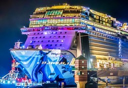 Norwegian Bliss er snart klar for jomfrutur