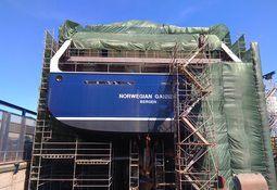 Slaktebåten Norwegian Gannet skal stå klar i september