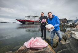 Hurtigruten kutter plastforbruket