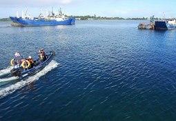 Fiordo Austral realiza simulacro FAN en Calbuco