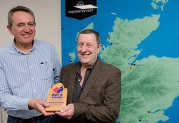 RSPCA honour for Marine Harvest veteran Bracken