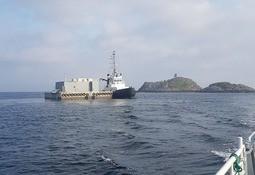 Landøy Fiskeoppdrett fekk på plass ny fôrflåte