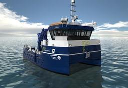 Sletta Verft bygger batteri-hybrid arbeidsbåt til Bjørøya