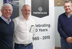 Marine Harvest honours long-serving staff