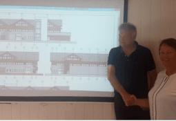 Leigland Bygg bygger nye kontorlokaler for Bolaks