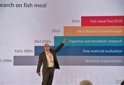Skretting destaca concepto Infinity para mayor independencia del uso de ingredientes marinos