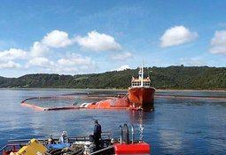 Mañana comienzan las labores de adrizamiento para el reflote del Seikongen