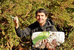 Ventisqueros apoya limpieza de playas del sector Palvitad