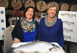 Huon is first Aussie salmon farmer to win RSPCA label