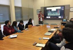 Experto internacional en isotopos dictó charla en el Incar