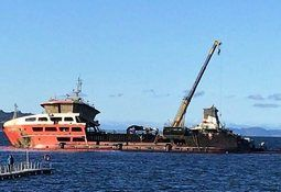Wellboat re-floated after nine months under water