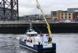 Aquaculture workboat is pride of the Clyde