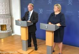 Solberg takket Per for hans sterke engasjement for havbruksnæringen