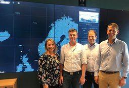 Aquaculture supplier salutes its digital Commander