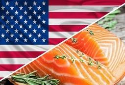 Sólo el salmón Atlántico chileno creció en Estados Unidos