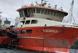 Solution found for emptying of re-floated Seikongen