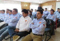Puerto Montt: Bomberos concluyen capacitación apoyada por Armasur