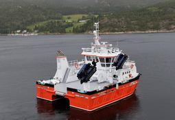 Ny Moen-båt til Nærøysund Aquaservice