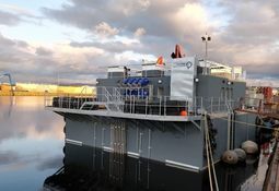 Hello Mate! 'Sophisticated' feed barge delivered to Scottish Salmon Company