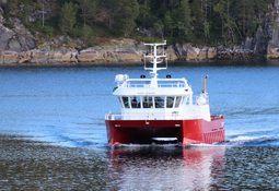 Seløy Sjøfarm AS styrker flåten med ny servicebåt