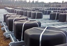 Orza impulsa participación en mercado de balsas jaulas metálicas