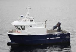 SalmoNor har nylig fått ny lokalitetsbåt