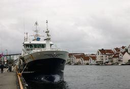 Ukens skipsbesøk: «Vestbas»