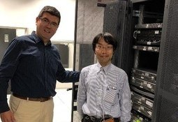 Especialista japonés visita instalaciones del IFOP
