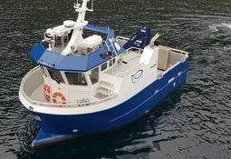 Ny båt fra Folla til Håløy Havservice