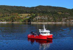 Marine Harvest mottar ny arbeidsbåt i rekordfart